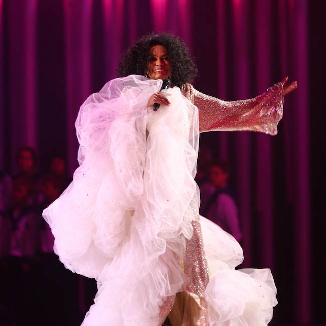 Diana Ross performing at Nobel Peace Prize Concert 2008 in Oslo