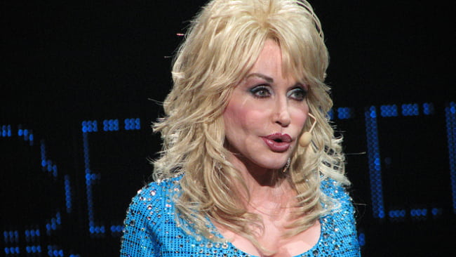Dolly Parton as seen in September 2011