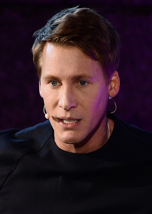 Dustin Lance Black during the opening day of Web Summit in November 2017