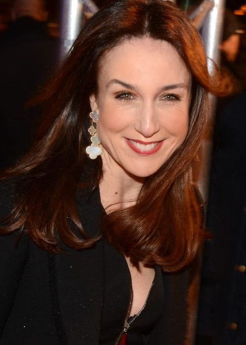 Elsa Zylberstein at the French premiere of The Monuments Men in February 2014
