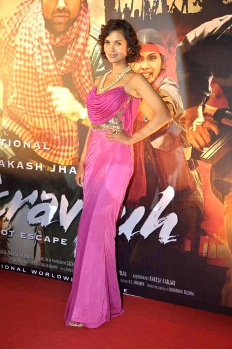 Esha Gupta at the first look launch of Chakravyuh in August 2012