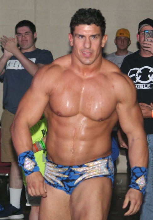 Ethan Carter III at the AML vs GFW Confrontation event in May 2016