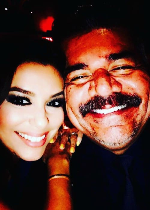 George Lopez and Eva Longoria as seen in September 2017
