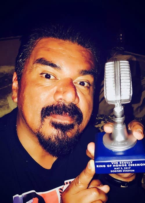 George Lopez in an Instagram post as seen in May 2017