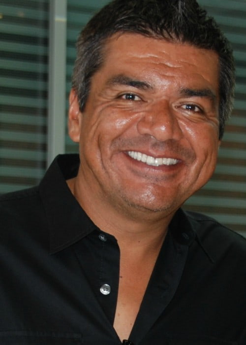 George Lopez posing for a photo in August 2010