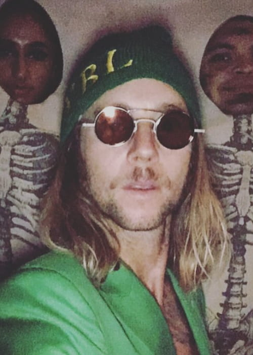 Greg Cipes in an Instagram selfie as seen in November 2017