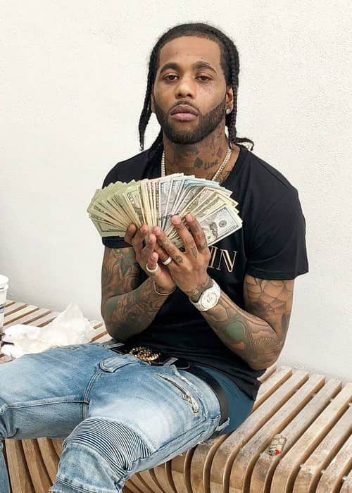 Hoodrich Pablo Juan as seen in January 2018