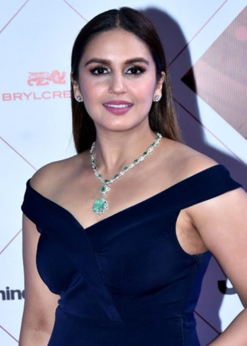 Huma Qureshi at the HT Style Awards in January 2018