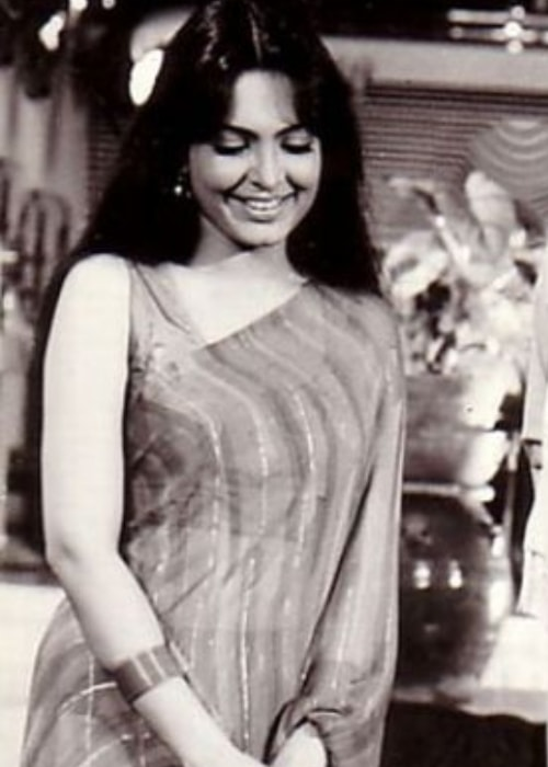 Indian actress Parveen Babi