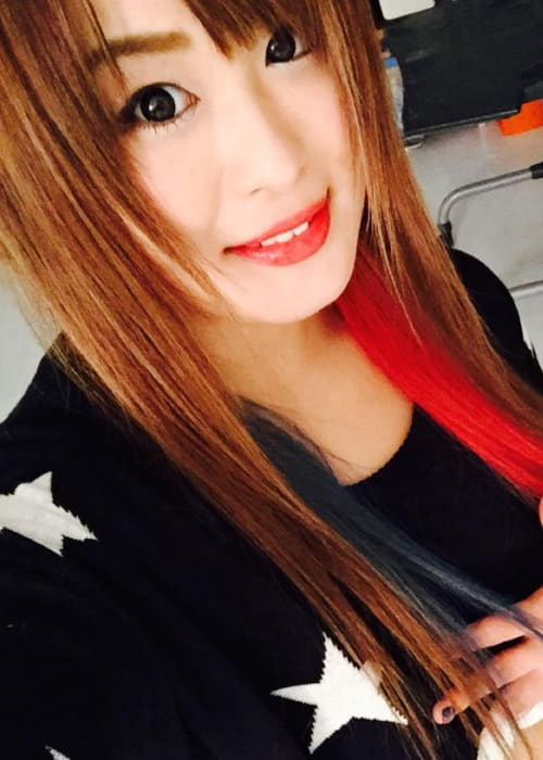 Io Shirai in an Instagram selfie as seen in December 2015
