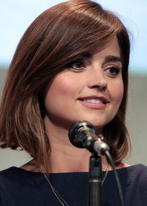Jenna Coleman at the 2015 San Diego Comic Con International