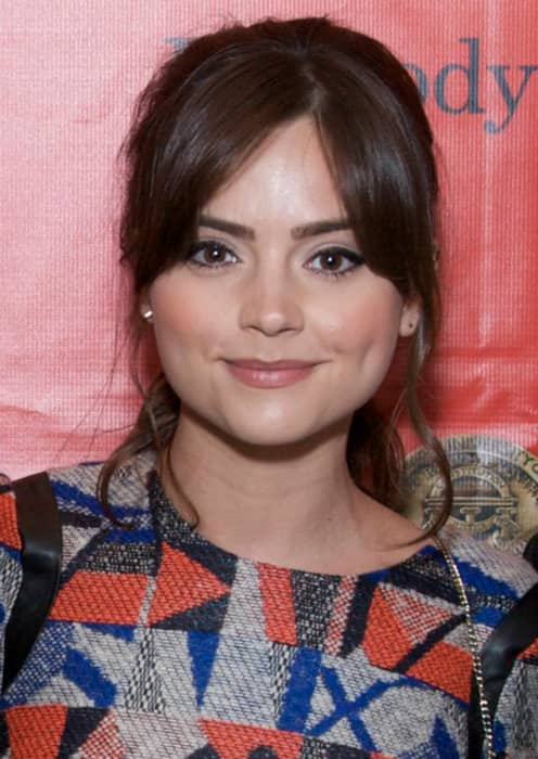 Jenna Coleman at the 72nd Annual Peabody Awards in May 2013