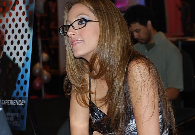 Jenna Haze at Miami Exxxotica in May 2009