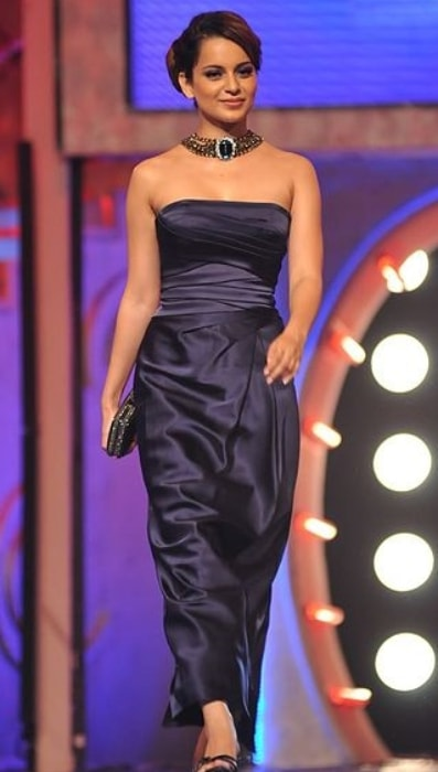 Kangana Ranaut at Femina Miss India contest in 2011