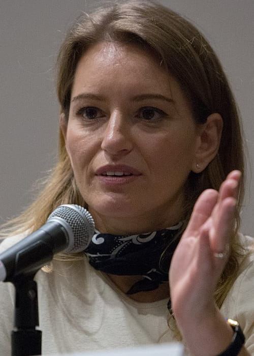 Katy Tur as seen in March 2017