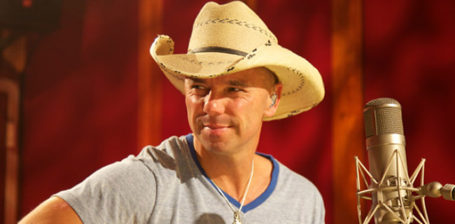 Kenny Chesney as seen in September 2010
