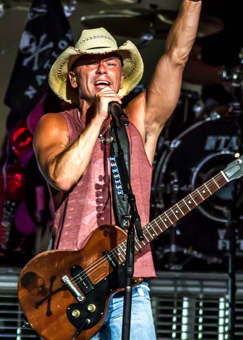 Kenny Chesney performing in Indianapolis in June 2013