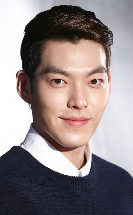 Kim Woo-bin at the The Flu premiere in August 2014