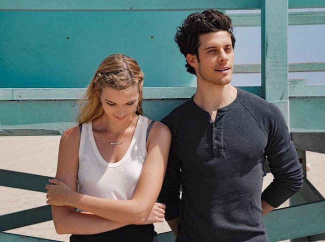 Kyle Harris and Emma Ishta as seen in June 2017