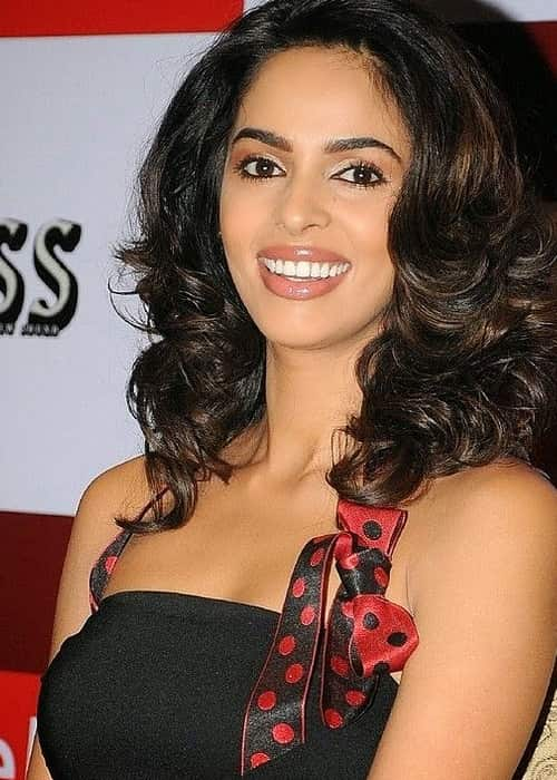 Mallika Sherawat as seen in August 2015