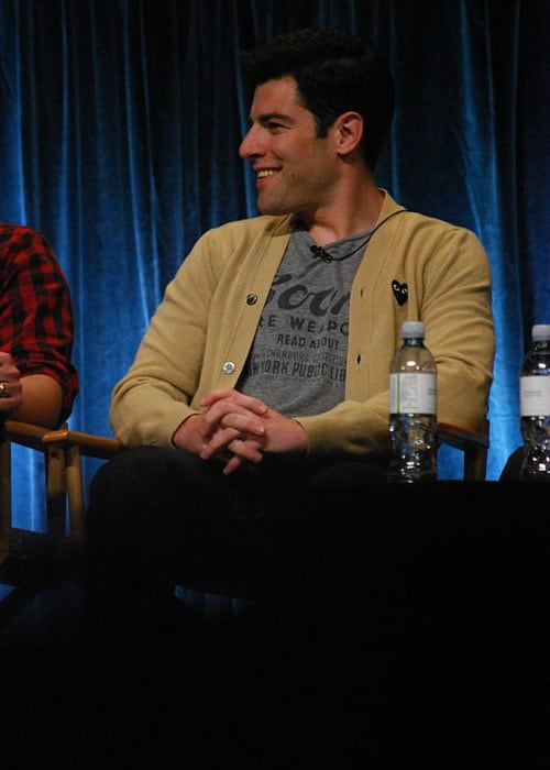 Max Greenfield as seen in March 2012