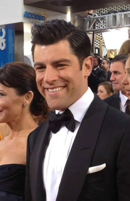 Max Greenfield at the 2013 Golden Globe Awards