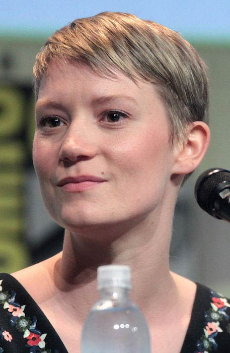 Mia Wasikowska at the San Diego Comic-Con International in 2015