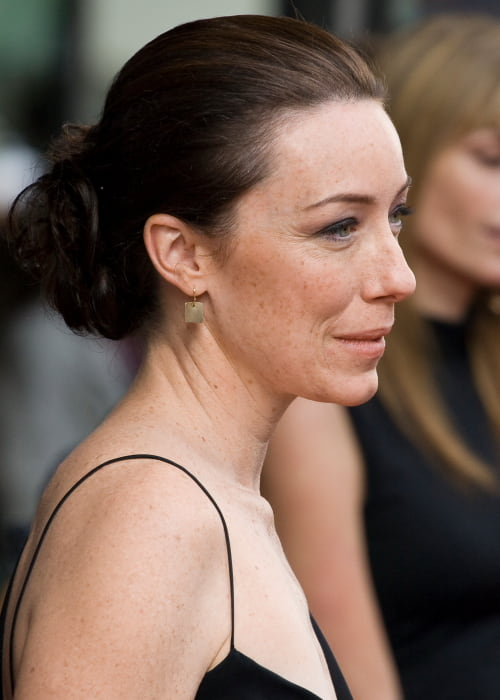 Molly Parker at the premiere of Trigger in September 2010