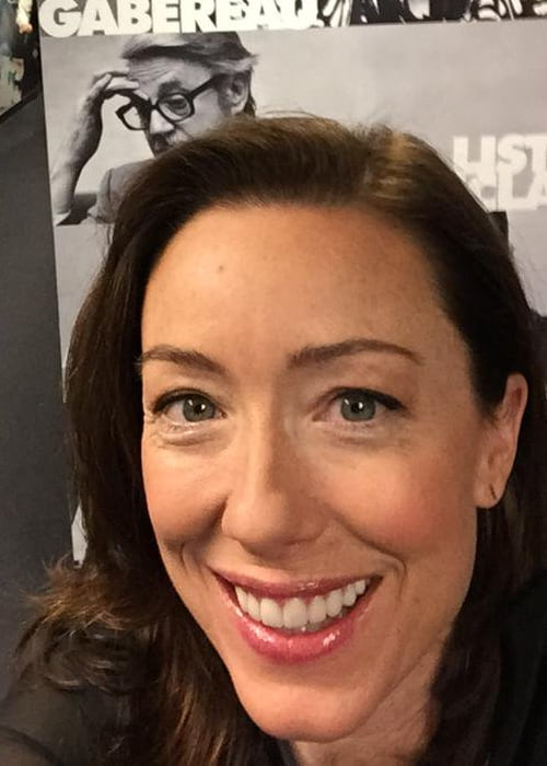 Molly Parker in a selfie in March 2015