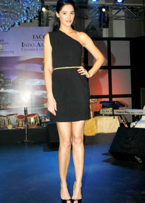 Nargis Fakhri at the 8th Indo-American Corporate Excellence Awards in July 2012