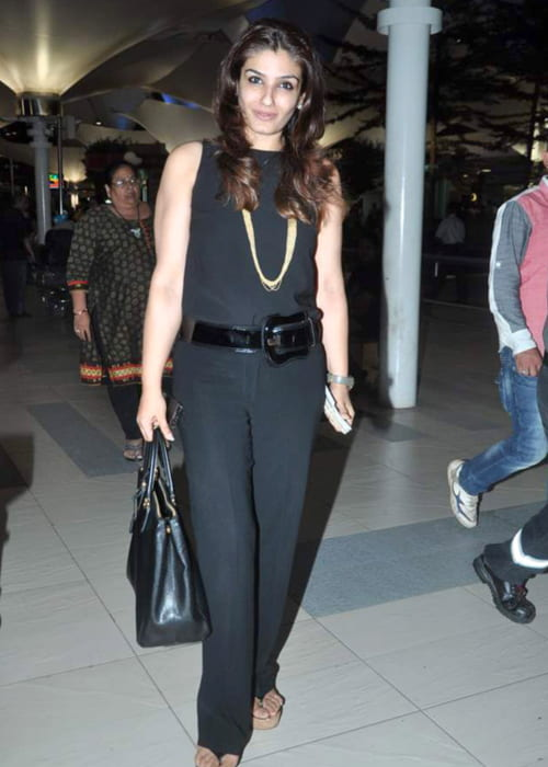 Raveen Tandon returning from IIFA in June 2012