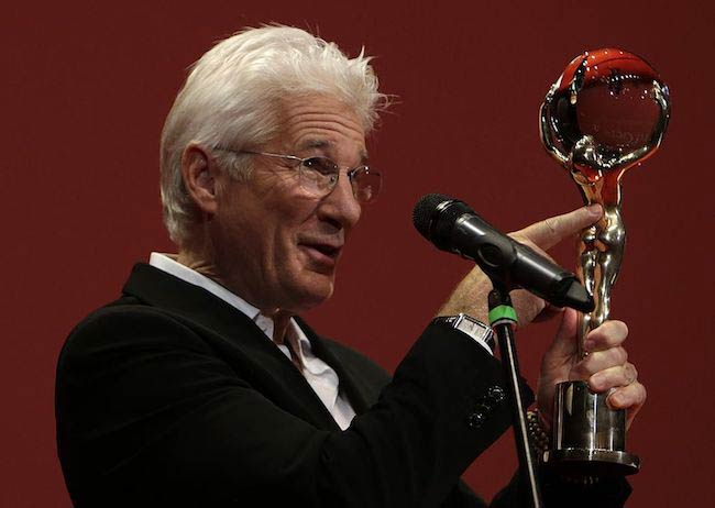 Richard Gere at the opening ceremony of the 50th Karlovy Vary International Film Festival in 2015