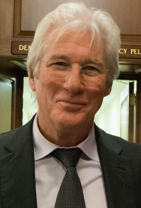 Richard Gere during the United States House of Representatives Member Party in December 2017