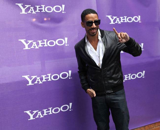 Ryan Leslie at Yahoo Yodel in 2009