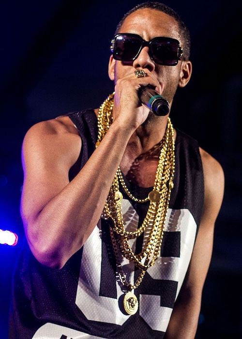 Ryan Leslie singing at the Manifesto in September 2014 in Toronto