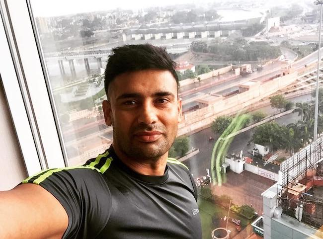 Sangram Singh at Renaissance Lucknow Hotel in August 2017