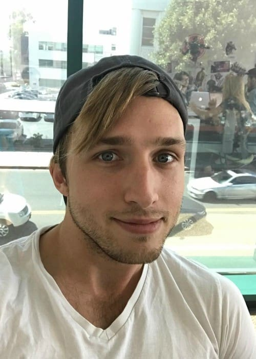 Shayne Topp in an Instagram post as seen in August 2017