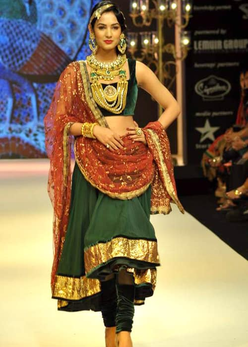 Sonal Chauhan at IIJW in August 2012