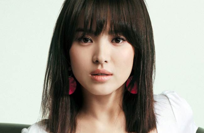 Song Hye-kyo in a September 2009 picture