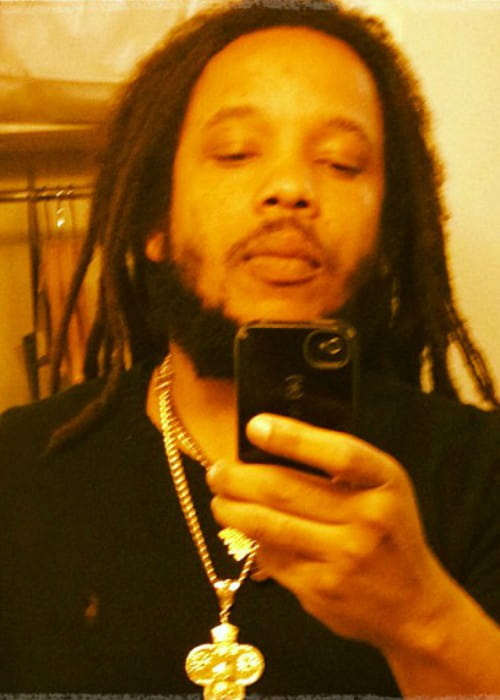 Stephen Marley in an Instagram selfie as seen in November 2012