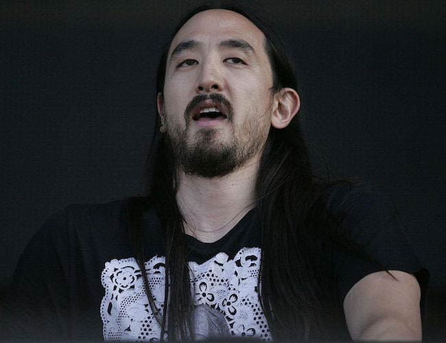 Steve Aoki playing at Future Music Festival, Randwick, Sydney in Australia in 2013