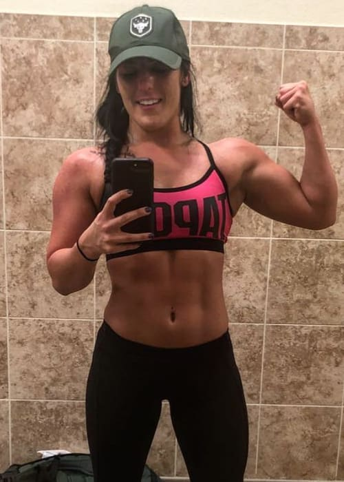 Tessa Blanchard in a selfie in April 2018