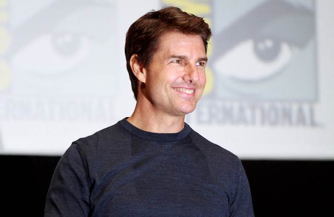 Tom Cruise at the 2013 San Diego Comic-Con International