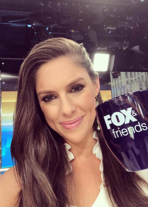 Abby Huntsman at Fox News Channel Studios in June 2018