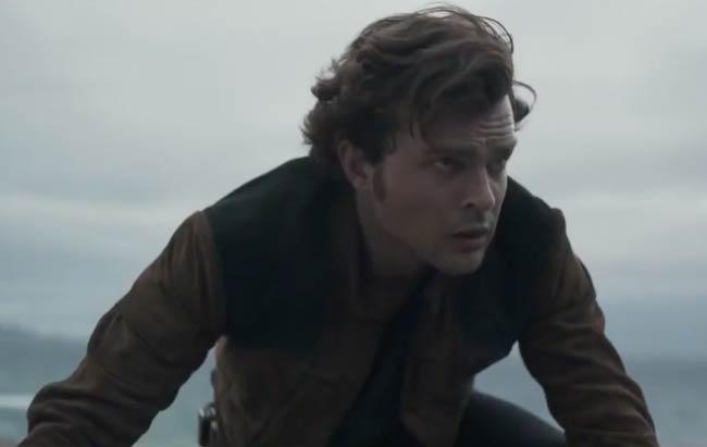 """Alden Ehrenreich in a still from 2018 film """"Solo: A Star Wars Story"""""""