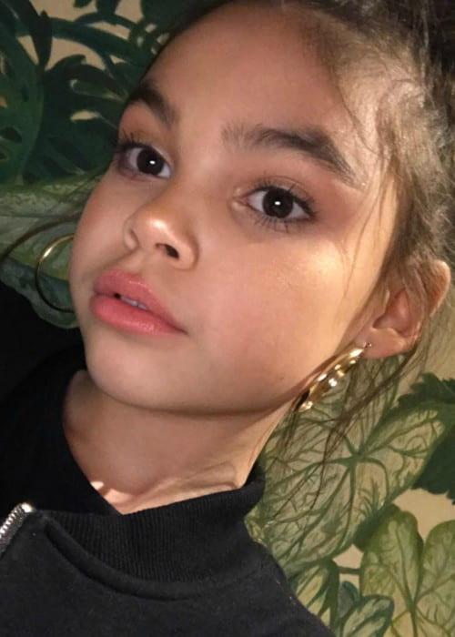 Ariana Greenblatt in an Instagram selfie as seen in February 2018
