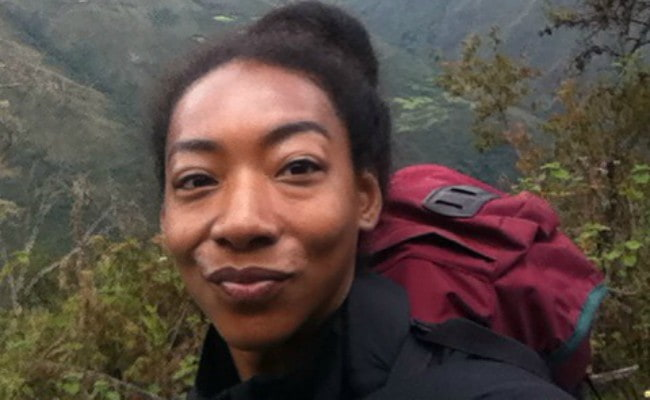 Betty Gabriel in a selfie as seen in December 2015