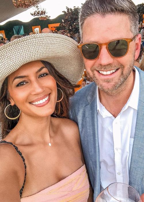 Bianca Cheah with her husband Simon Chalmers in June 2018