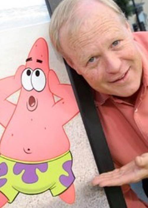 Bill Fagerbakke, the voice of Patrick Star in SpongeBob SquarePants