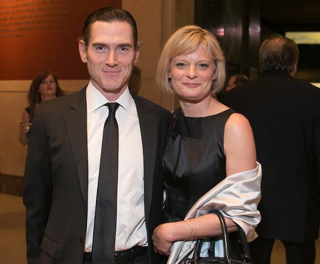 Billy Crudup and Martha Plimpton at 2015 PEN Gala